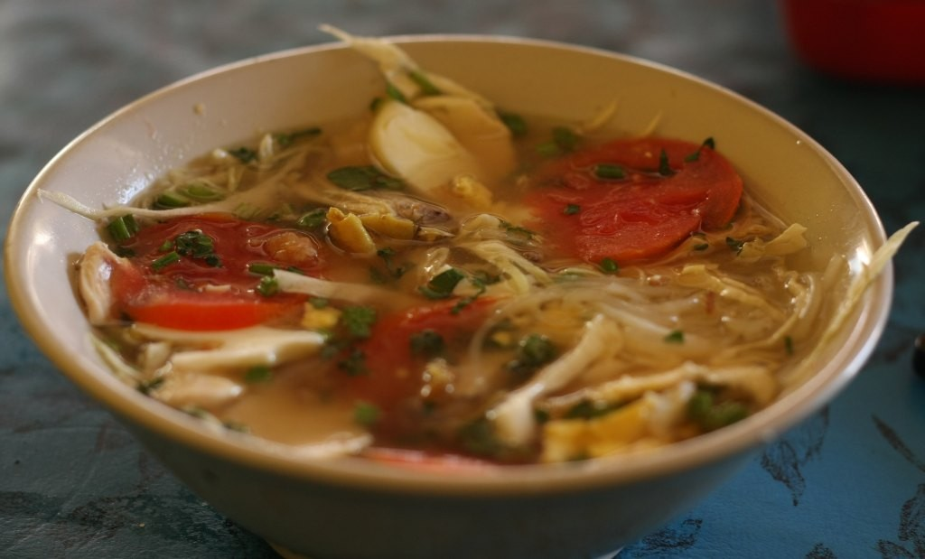 Soto ayam in Indonesia
