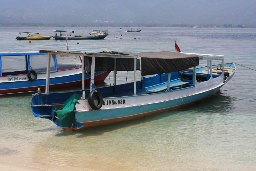 Ferry on Gili Air