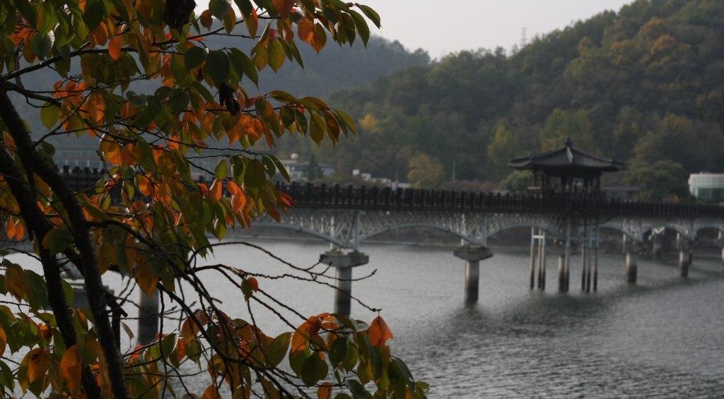 Woryeonggyo Bridge near Andong Folk Museum