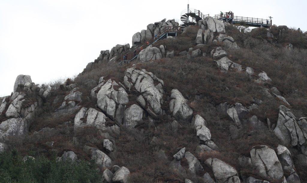 Geumjeongsan Mountain summit
