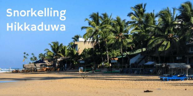 Snorkelling Hikkaduwa