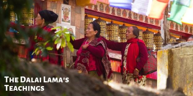 The Dalai Lama's teachings