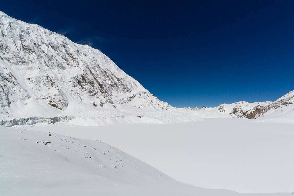 Tilicho Lake frozen