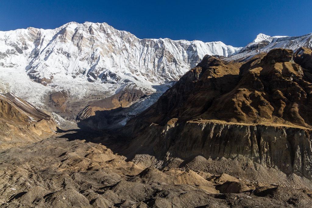Annapurna Massif and its glacier