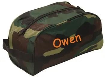 Camo Toiletry Bag