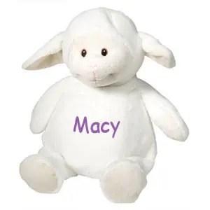 Personalized Stuffed Animal - Lamb