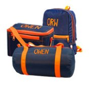 Navy Orange Collection