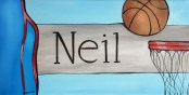 Basketball Door Plaque