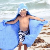 Personalized Kids' Towel - Shark