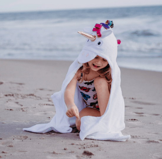 Personalized Towel for Kids - Unicorn