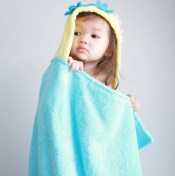 Mermaid Personalized Hooded Towel