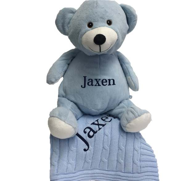 Baby Boy Personalized Gift Set