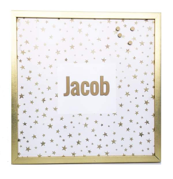personalized magnet board - be bright
