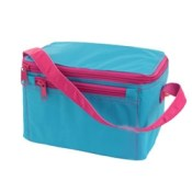 Aqua Hot Pink Personalized Lunch Box