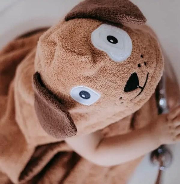 Personalized Kids Towel - Dog