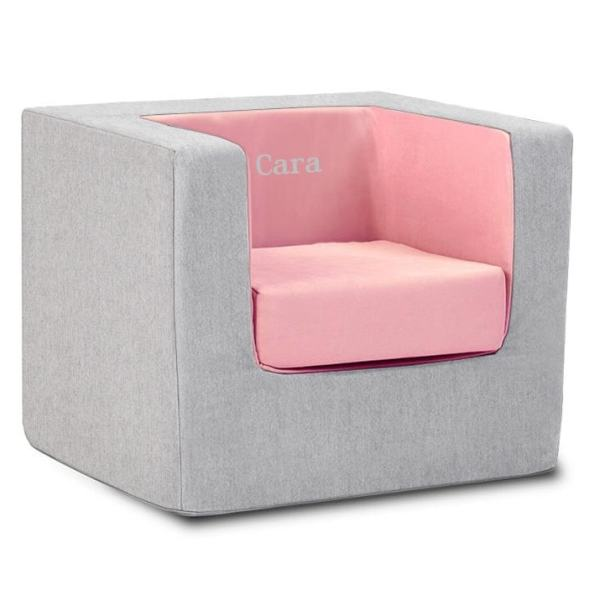 Personalized Cubino Chair - Ash Pink Monte