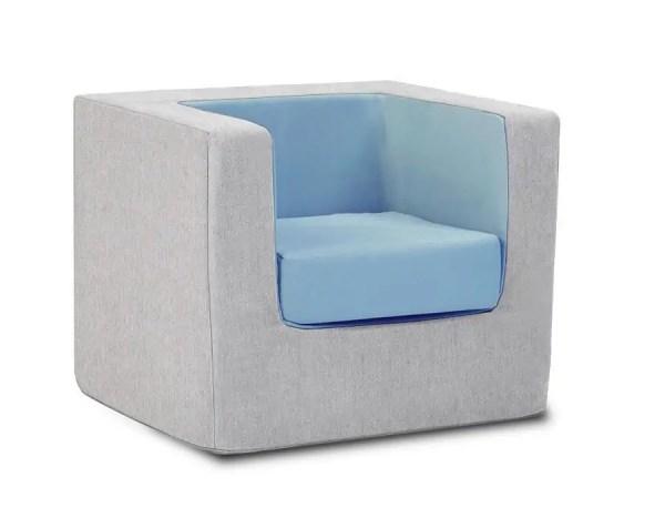 Monte Cubino Chair - Ash Blue