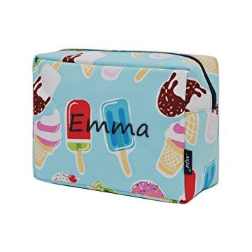 Personalized Ice Cream Travel Pouch