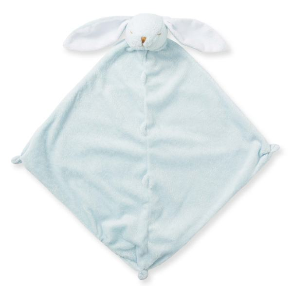 Angel Dear Blue Bunny Lovie Blankie