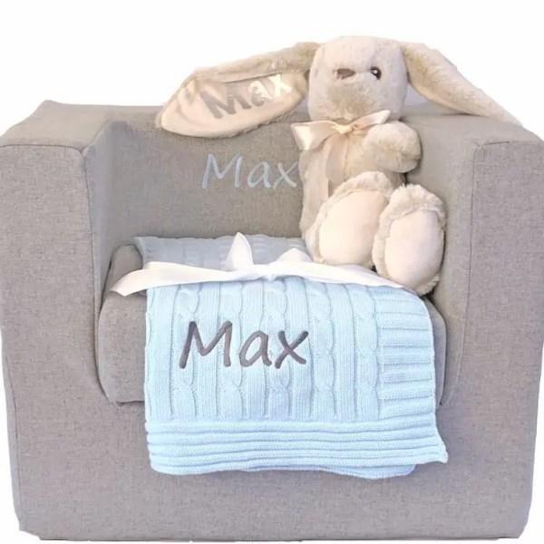 Best Gift I Ever Received - Baby Boy Gift Basket
