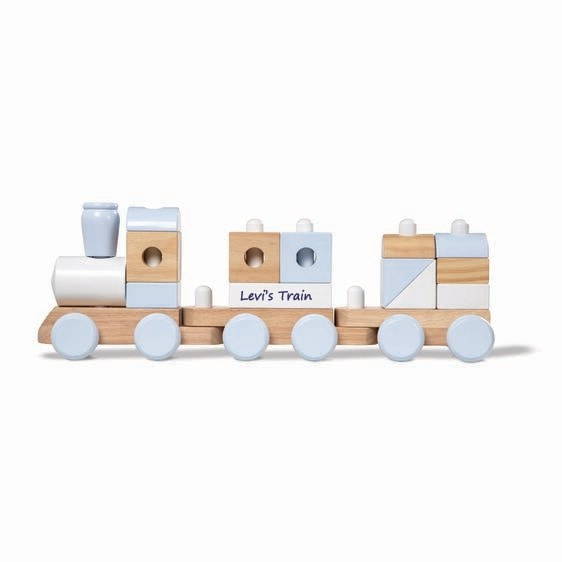Personalized Jumbo Stacking Train