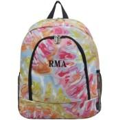 Personalized Backpack - Tie Dye