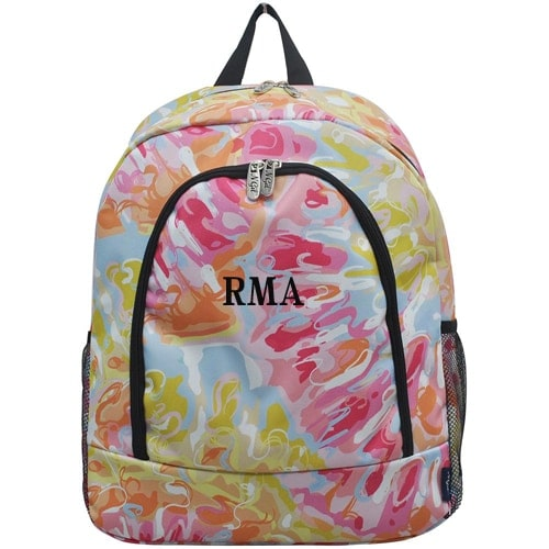 Personalized Backpack - Tie Dye