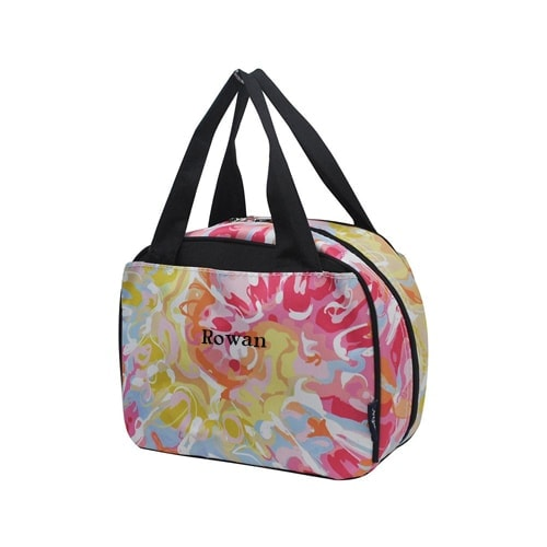 Personalized Lunch Box - Tie Dye