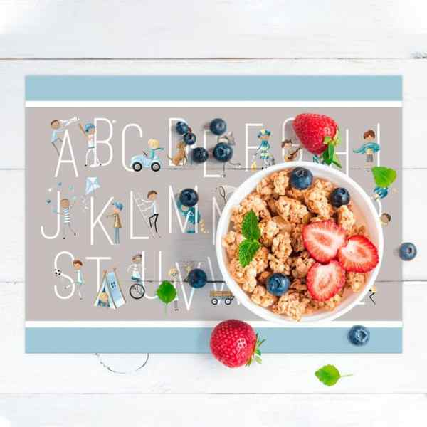 Personalized Placemat for Kids - B is For Boys