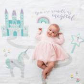 Personalized Baby Milestone Blankets