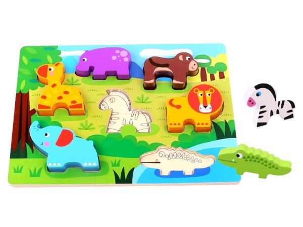 Tooky Toy - Chunky Animal Puzzle