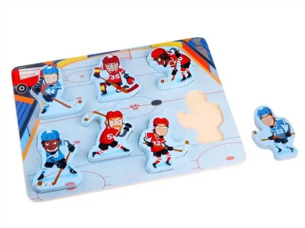 Tooky Toy - Chunky Hockey Puzzle
