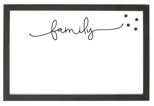magnet frame - family