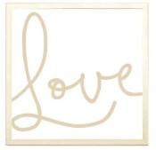 magnet frame - love