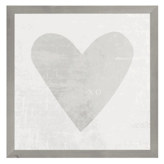 Magnet Frame - Watercolour Heart