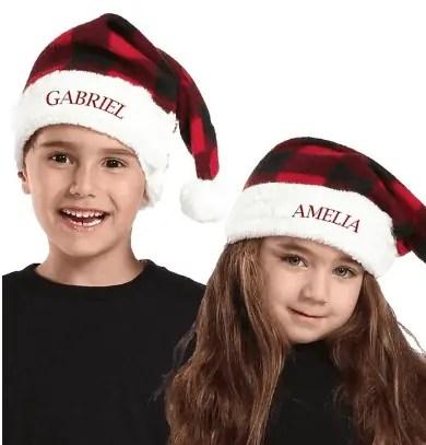 Personalized Kids Santa Hat