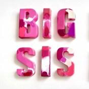 name crayon - Big Sis