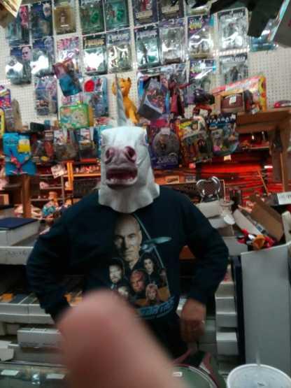 Phil in Unicorn hat 2