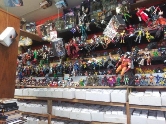 Magic and Action figures 1