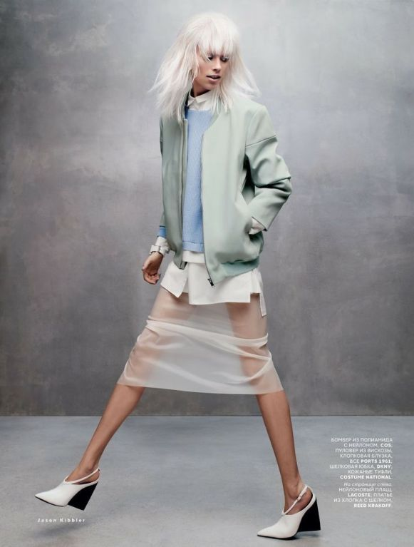 Lexi Boling by Jason Kibbler for Vogue Russia, march 2014