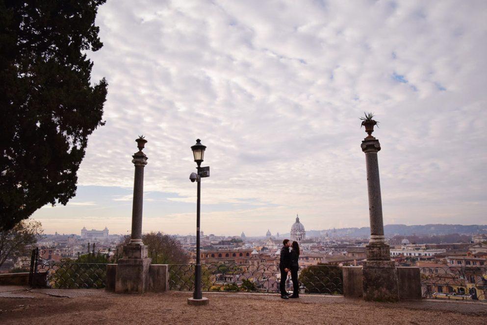 фотограф с экскурсией в Риме