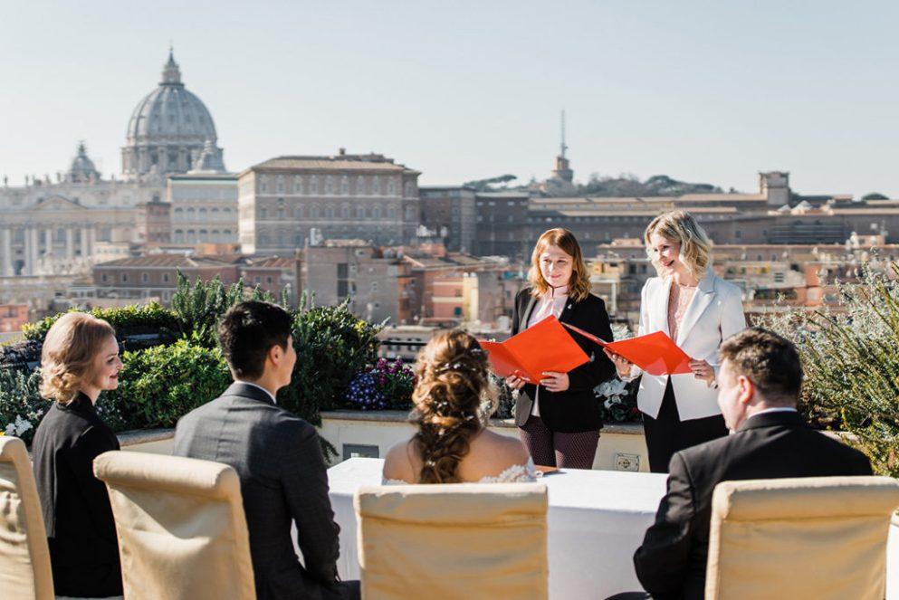 организация свадьбы Рим
