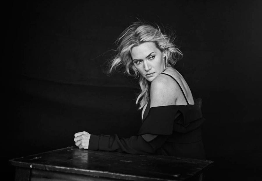 Кейт Уинслет без фотошопа для календаря Pirelli 2017