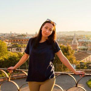 Анастасия Никишова, участник квеста в Риме