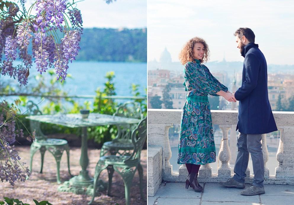 орингинальные варианты и сценарии предложений выйти замуж в Риме