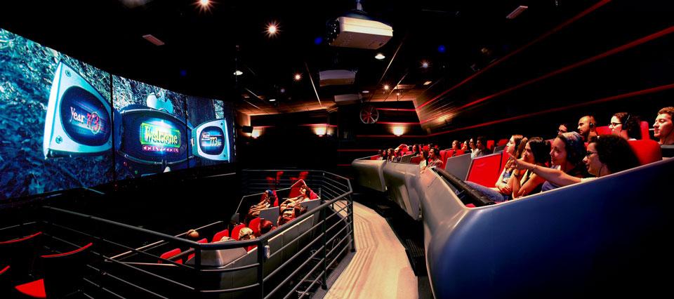 5D кинотеатр в Риме Тайм Элеватор