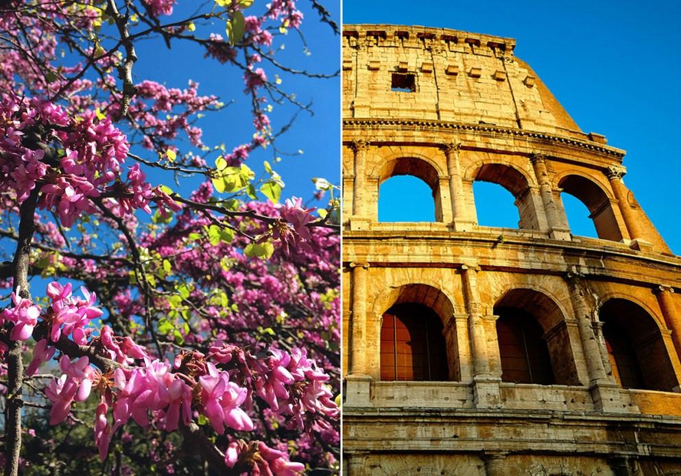 погода и что делать в апреле в Риме