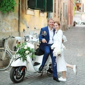 Свадебная церемония за границей: обновление свадебных клятв Анатолия и Марины