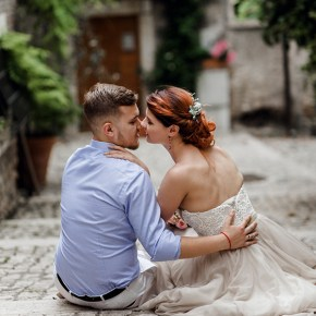 Когда брак заключается на небесах: свадьба Анны и Евгения в Риме