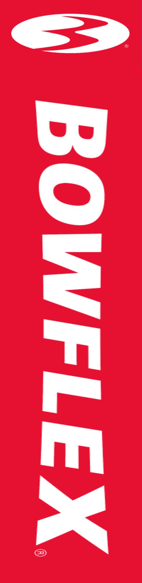Bowflex logo side banner